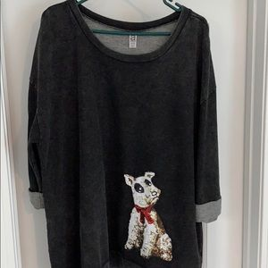Plus Size Winter/Christmas Shirt - only worn once